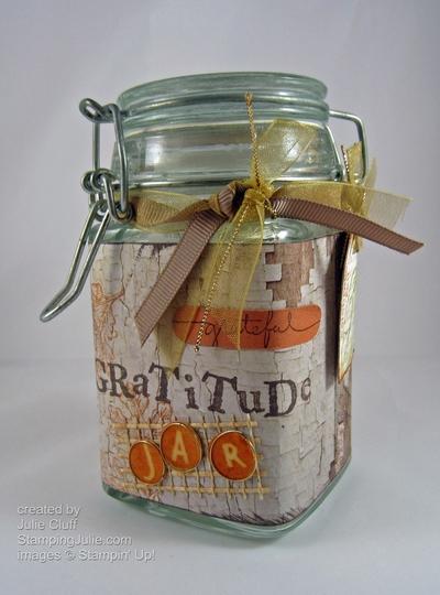 http://stampingjulie.com/2012/11/sunday-inspiration-gratitude-jar/